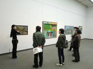 FORUM PRESSレポーター「塔本シスコ展 こどもの心をもったおばあちゃん画家」