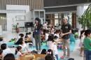 【かすがい文化フェスティバルレポート③】段ボール工作と人形劇 つくってあそぶ夏休み!