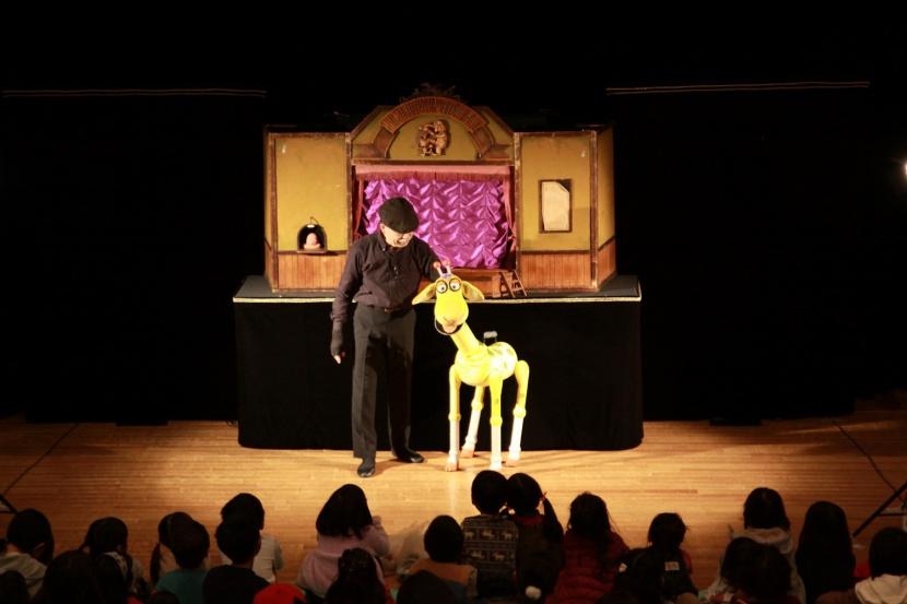 【FORUM PRESSレポーター】「糸あやつり人形劇団みのむし~マリオネットと腹話術で楽しむ人形劇の世界~」
