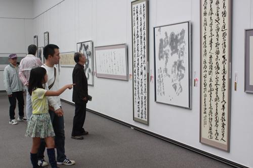小野道風公奉賛 第71回(2019年)<BR>全国書道展覧会「道風展」