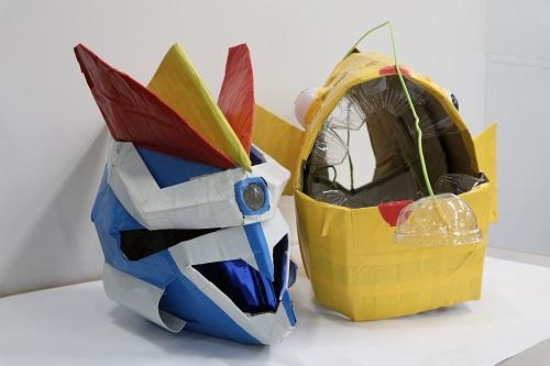 段ボールや廃材でオリジナル変身マスクを作ろう!<font color=red>※申込は終了しました。</font>