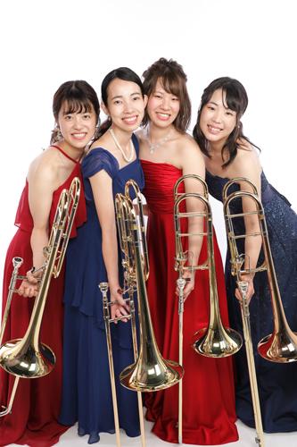<small>(公財)かすがい市民文化財団presents 若手音楽家支援事業</small><BR>第7回ワンコインコンサート <BR>Trombone Ensemble Gaio