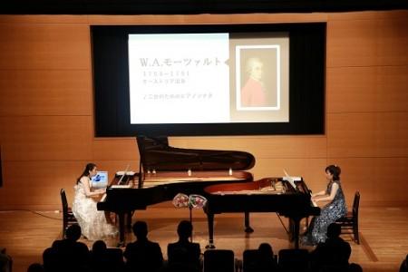 【FORUM PRESSレポーター】第6回ワンコインコンサート ピアノデュオ MeisA