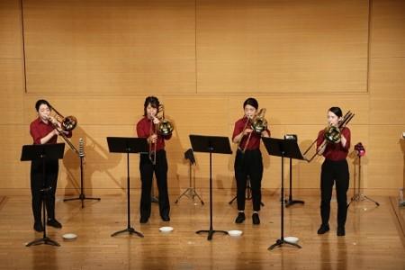 【FORUM PRESSレポーター】第7回ワンコインコンサート Trombone Ensemble Gaio